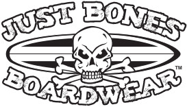 Just Bones Boardwear Logo